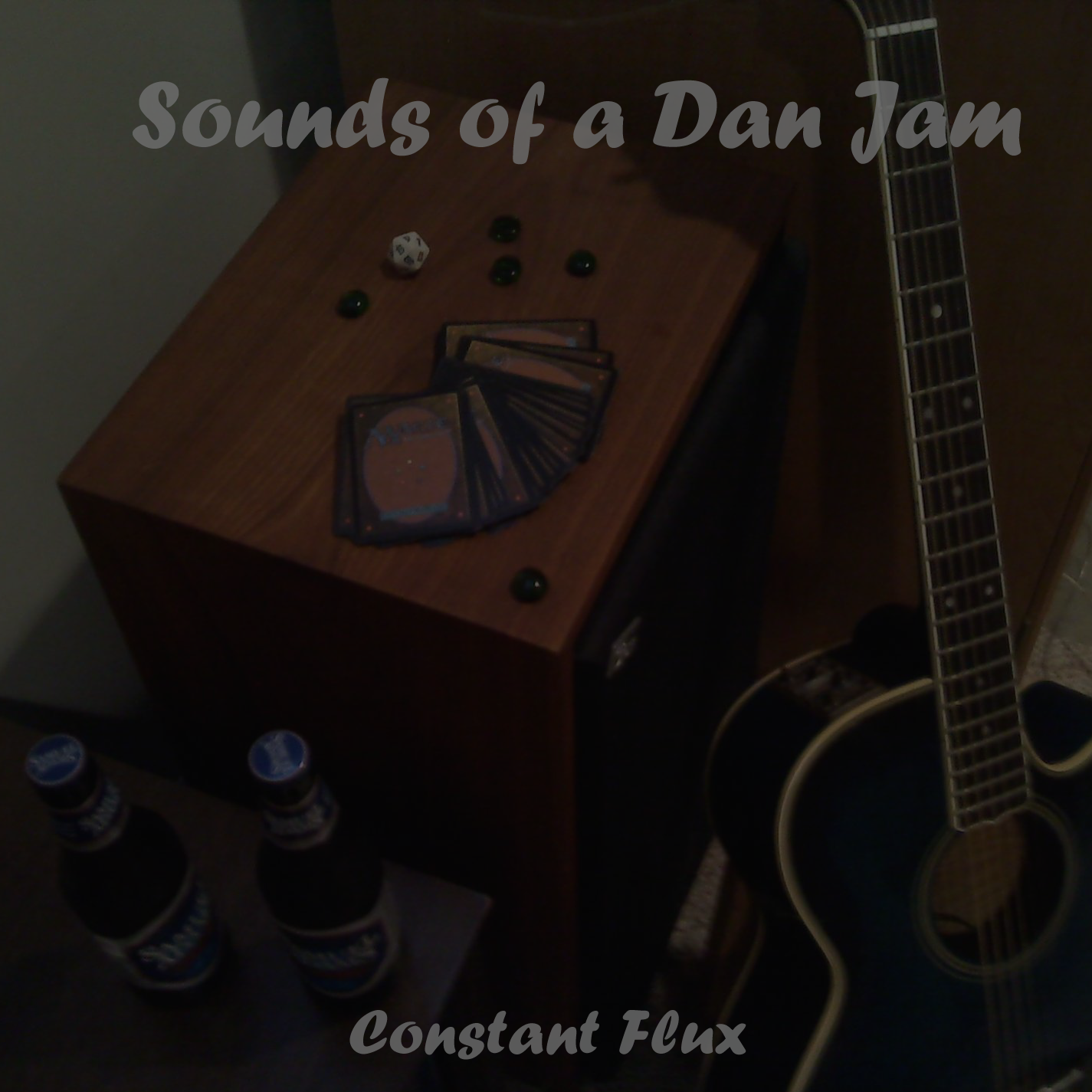 The album cover for Constant Flux's Sounds of a Dan Jam