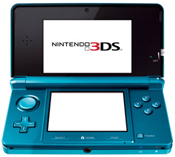 A stock picture of the Nintendo 3DS